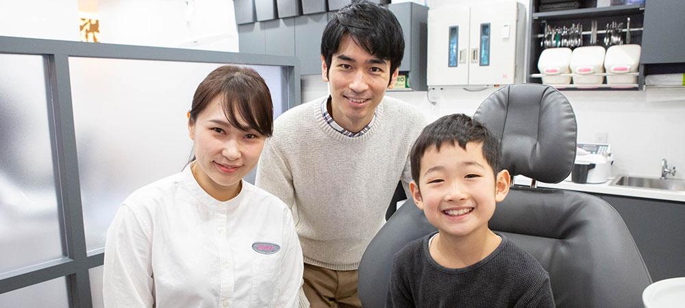 子どもの出っ歯の矯正治療