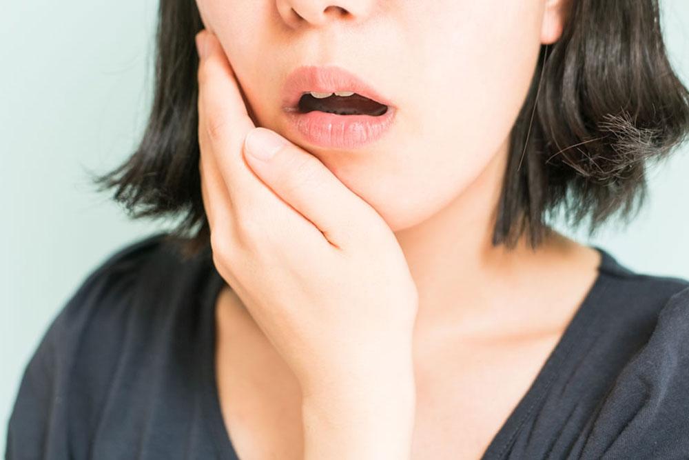 顎関節や奥歯への負担